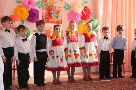 Сценарии на 8 марта в детском саду